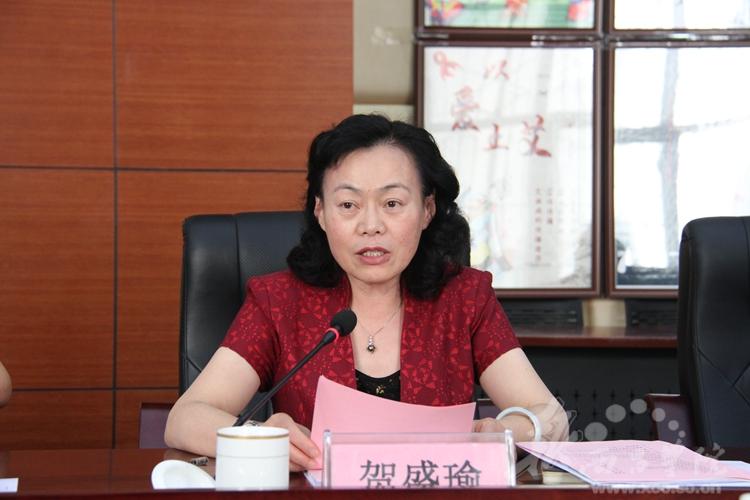 西昌学院院长贺盛瑜,党委常委,副院长陈小虎,人事处处长,教师工作部部